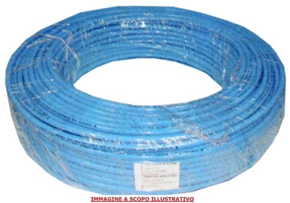 TUBO CALIBRATO IN COPEY PA SUPERFLEX AZZURRO PER ARIA COMPRESSA 8 X 10 mm 100 METRI