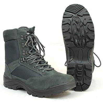 45d8a2914ee Amazon.com | Mil-Tec Men's Tactical Zipper Boots Urban Grey ...