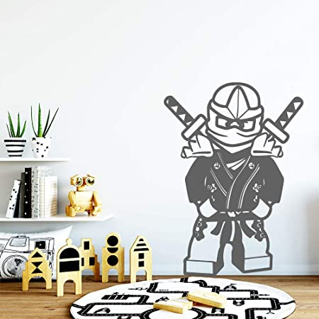 jiuyaomai Ninja Wallpaper PVC Tatuajes de Pared para ...
