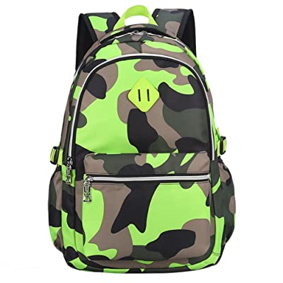 d2fdc6dece Camouflage Kids School Bags Tactical Backpack for Primary  Middle School  Boys Girls