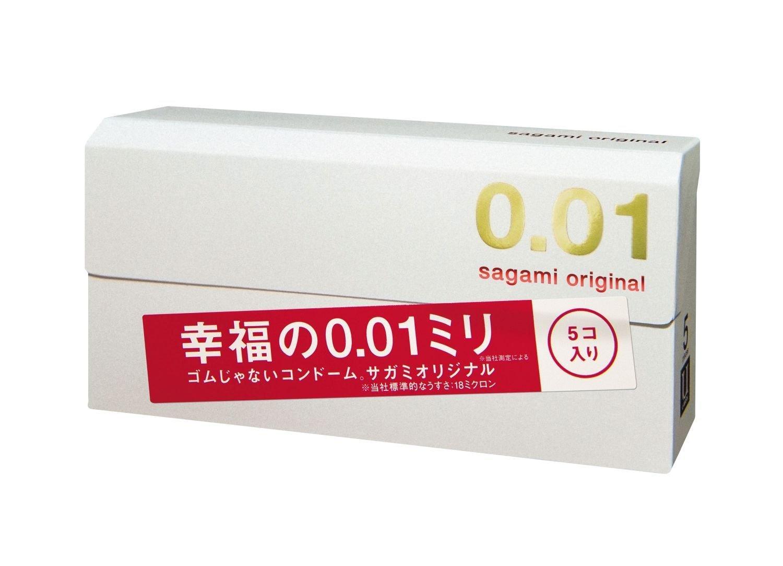 [Sets] Sagami Original 0.01 5 pieces × 8 boxs by Sagami Original