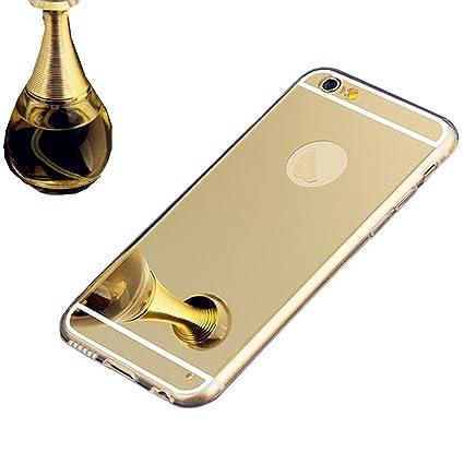 Amazon.com: Iphone 6 Mirror Case,Johncase Luxury Ultra Clear Back ...