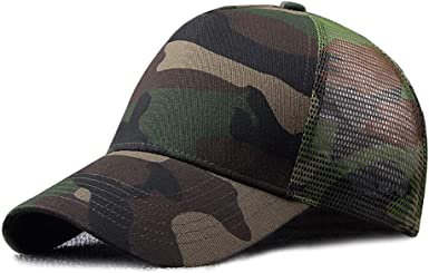 Cool Camouflage Peaked Cap Outdoors Military Cotton Caps Baseball Sport Hats
