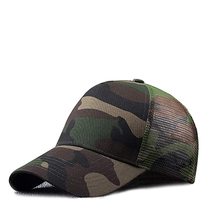 RICHTOER - Gorra de béisbol - para Hombre Verde Ejercito Verde ...