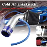 RYANSTAR Universal Percompatible withmance Cold Air Intake Pipe,Car Cold Air Intake Filter Aluminum Induction Flow Hose…