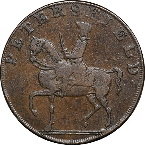 Conder Token - 1793 Conder Token D&H 47, Petersfield Promisory Halfpenny Good