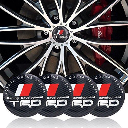 trd wheels center cap - 2