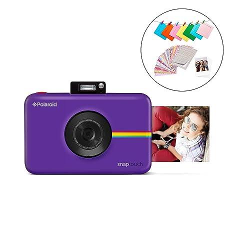 Polaroid Snap Touch 2.0 - Cámara digital portátil instantánea de 13 Mp,Bluetooth, pantalla