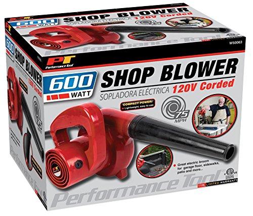 Performance Tool W50063 Compact Red 600 Watt Garage/Shop