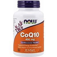 Now Foods CoQ10, Softgels, 400mg, 60ct
