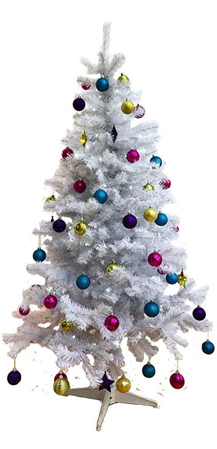 White Christmas Tree Design.Homegear 6ft Deluxe 700 Tip Artificial White Xmas Christmas Tree