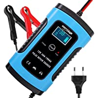 ZHITING Auto-acculader 12V / 6A Automotive Smart Battery Maintainer Automatische Oplader Battery Charger voor…
