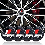 For TRD type1 Automelody 4pcs A Set Of Wheel Center Caps Hubcap For Toyota Crown TRD And Tuning