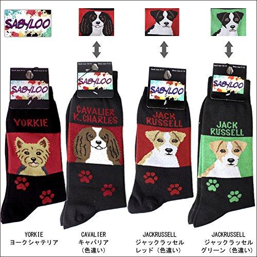 【日本初】 SABYLOO サビールー ソックス 靴下 犬柄 ドッグ dog ショートソックス 世界三大綿 エジプト綿[F-LIFE/Amazon]