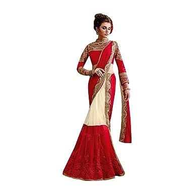 158144d342 Amazon.com: BRIDAL BOLLYWOOD DESIGNER LEHENGA SAREE SARI WEDDING CEREMONY  PARTY WEAR INDIAN MUSLIM WOMEN: Clothing