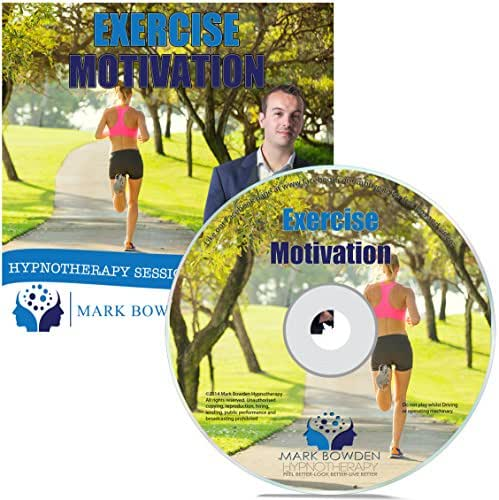 Exercise Motivation Self Hypnosis CD / MP3 and APP (3 IN 1 PURCHASE!) - Get Motivated to Get in Shape with the Power of Your Mind With This Hypnotherapy CD