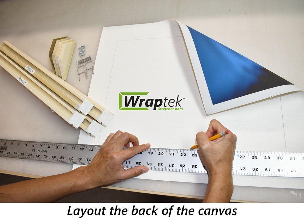 8x12 Wraptek Canvas Stretcher Bar Kit