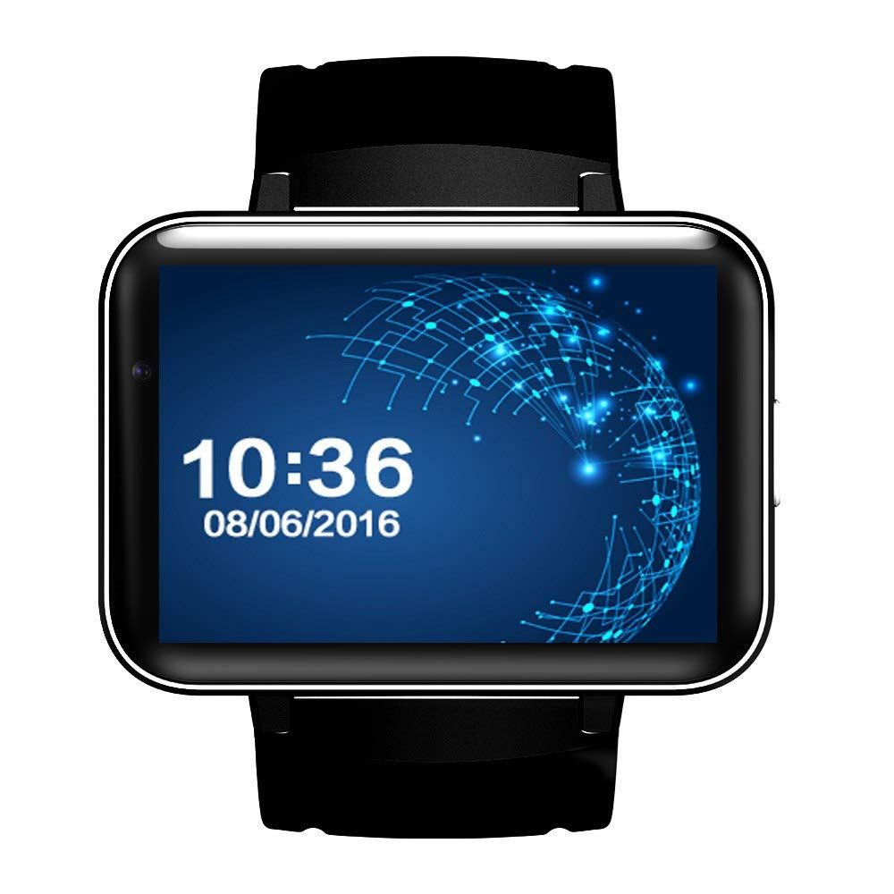 WCPZJS DM98 Smart Watch MTK6572 3G Smartwatch 900mAh Batería 512MB ...