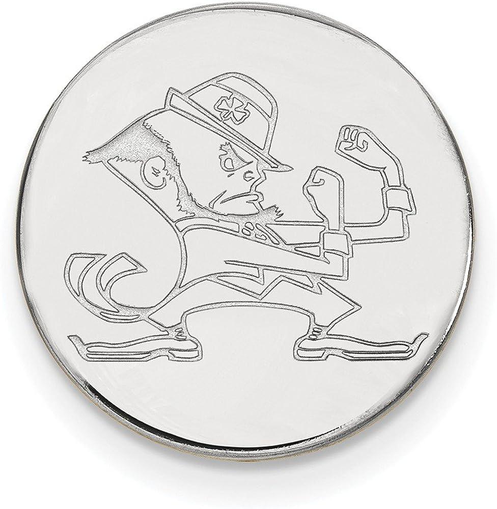 Sterling Silver LogoArt Churchill Downs Money Clip