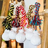 Hawaiian Poi Balls for Beginner and Professional 27-Inch (Colors May Vary) 1 Pair - Shipped from Hawaii