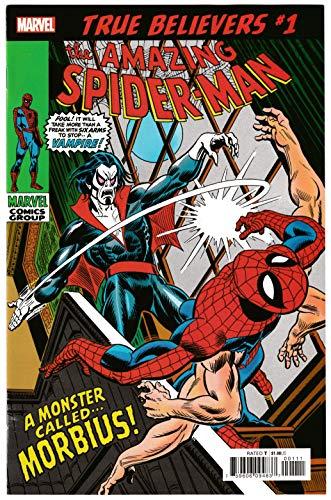 - True Believers Morbius #1 Reprint Amazing Spider-Man #101 (Marvel, 2019) VF/NM