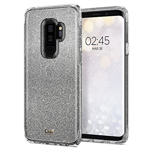 (CYRILL Ciel [Colette Collection] Designed for Samsung Galaxy S9 Plus Case (2018) - Silver Glitter)