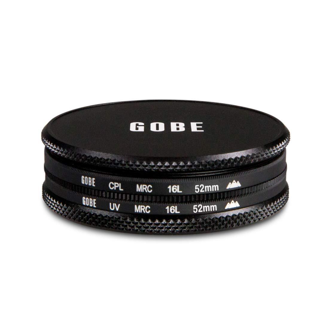 Gobe UV Kit de Filtros 86mm MRC 16-Capas CPL Polarizador