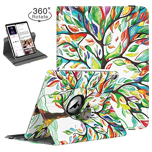 TiMOVO Case for iPad Pro 12.9 Inch 2018, 360 Degree Rotating Smart Leather Swivel Case with Auto Sleep/Wake for iPad Pro 12.9
