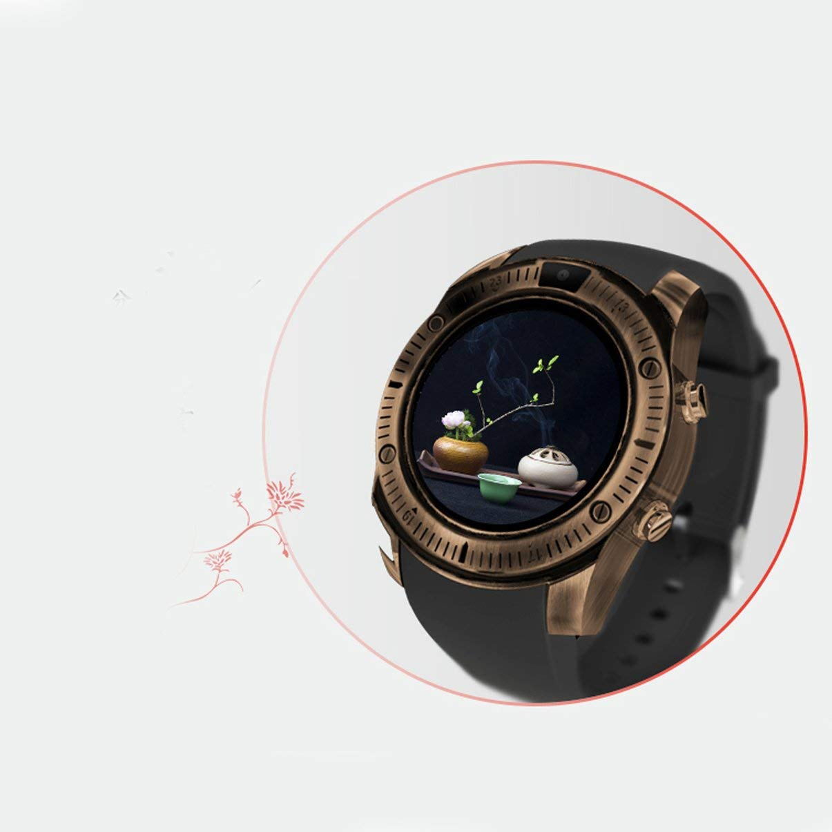 Reloj Inteligente para Internet Ky003 Reloj Inteligente para Adultos: Amazon.es: Relojes