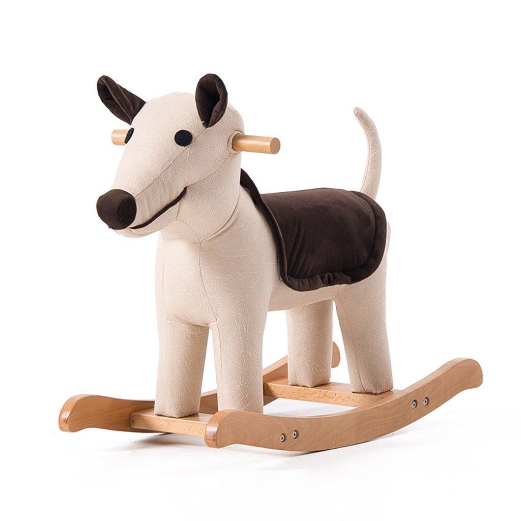 Lazy sofa Sedia a dondolo a dondolo in legno massello di 1-5 anni regalo bambino giocattolo del bambino LI JING SHOP (Colore : #-005)