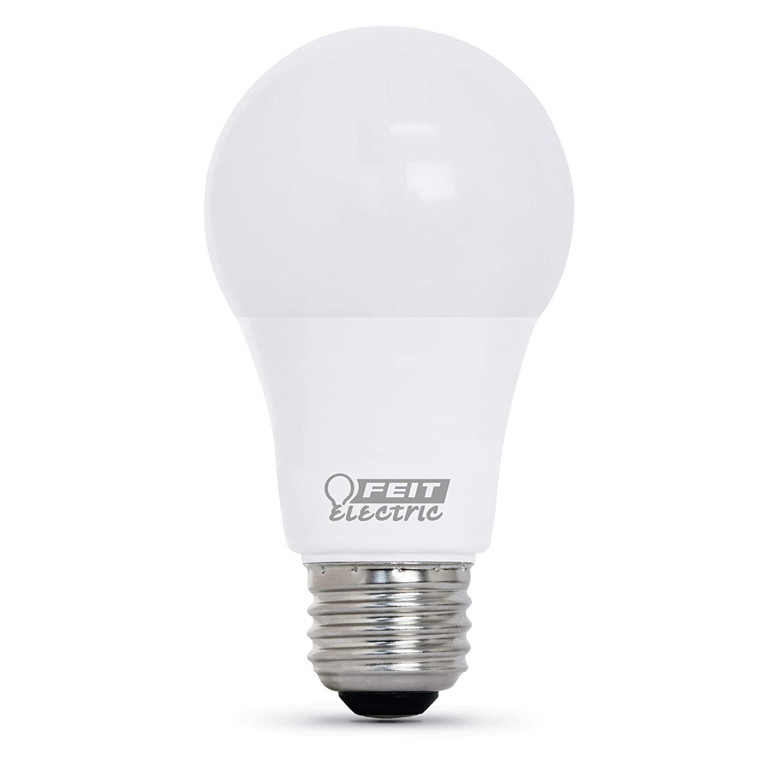 Feit Electric LED A19 40W Equivalent 450 Lumens 5000K 25000 Life Hours CEC Compliant Pack of 52