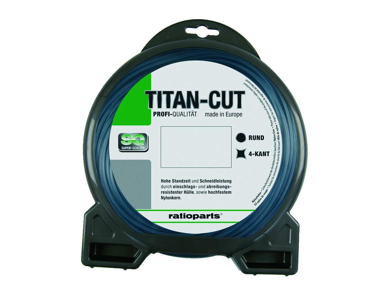 Ratio Parts Nylon Hilos 3, 5 mm de Titanio Cut copolymer 32 M Hilo ...