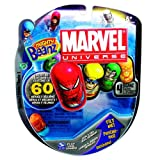 New Mighty Beanz Licensed 4 Pack Marvel (Colors and Styles Vary)