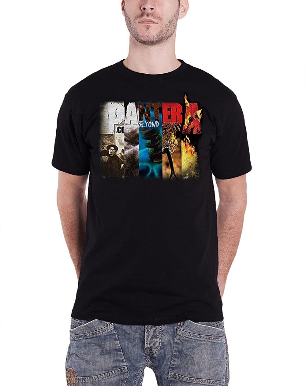 Pantera Herren T-Shirt Album Collage PANTS09MB