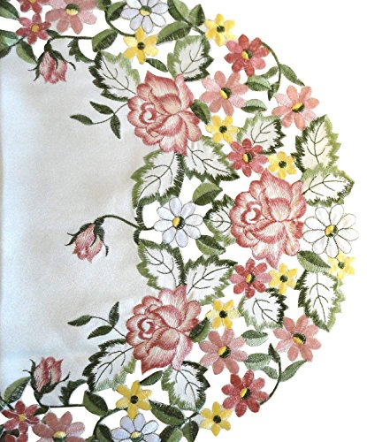 - Galleria di Giovanni Embroidered Pink Rose 34