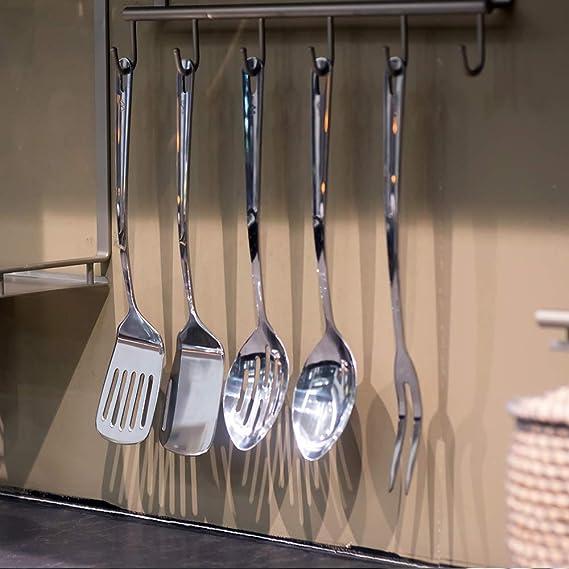 Amazon.com: Juego de ollas y sartenes de cocina con espátula ...