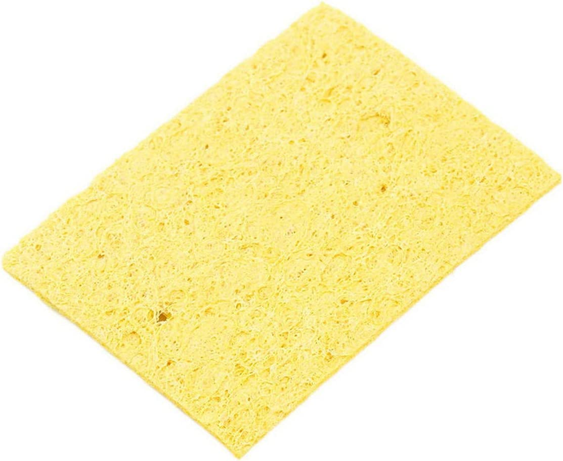 5 PCS  Enduring Condense Electric Welding Soldering Iron Cleaning Sponge NEW