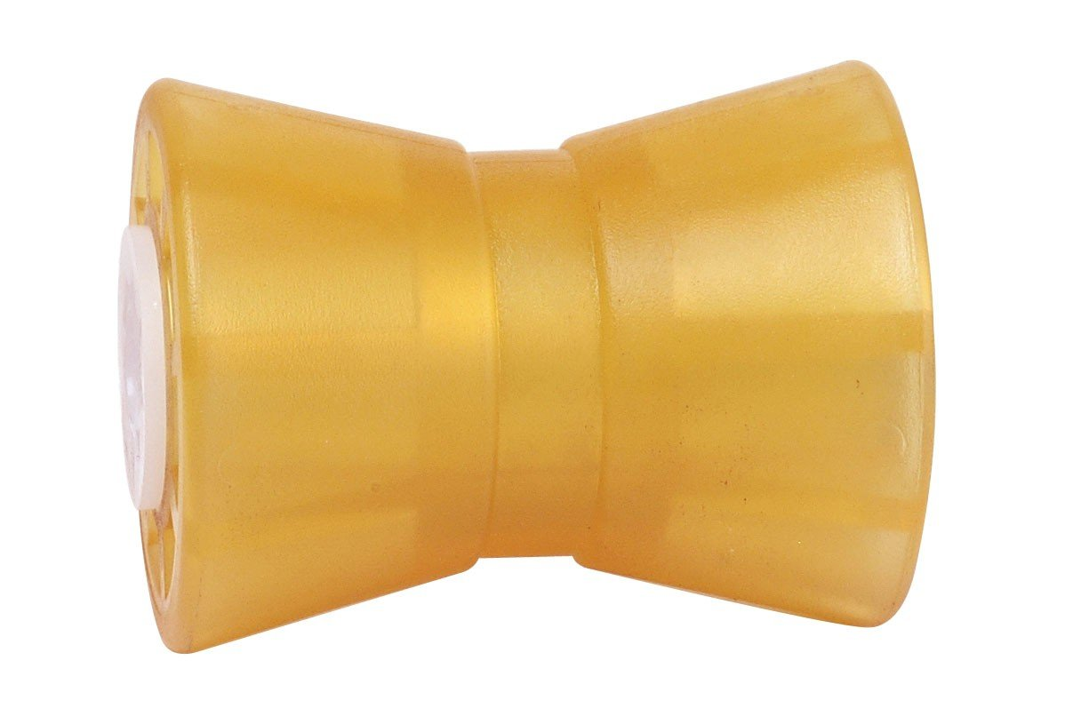 Tie Down 86158 Amber 5'' PVC Guided Keel Roller