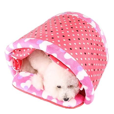 zuckerti Perros cueva para perros Animales Perros cama Perros sofá cesta con puestos de dormir Cojín