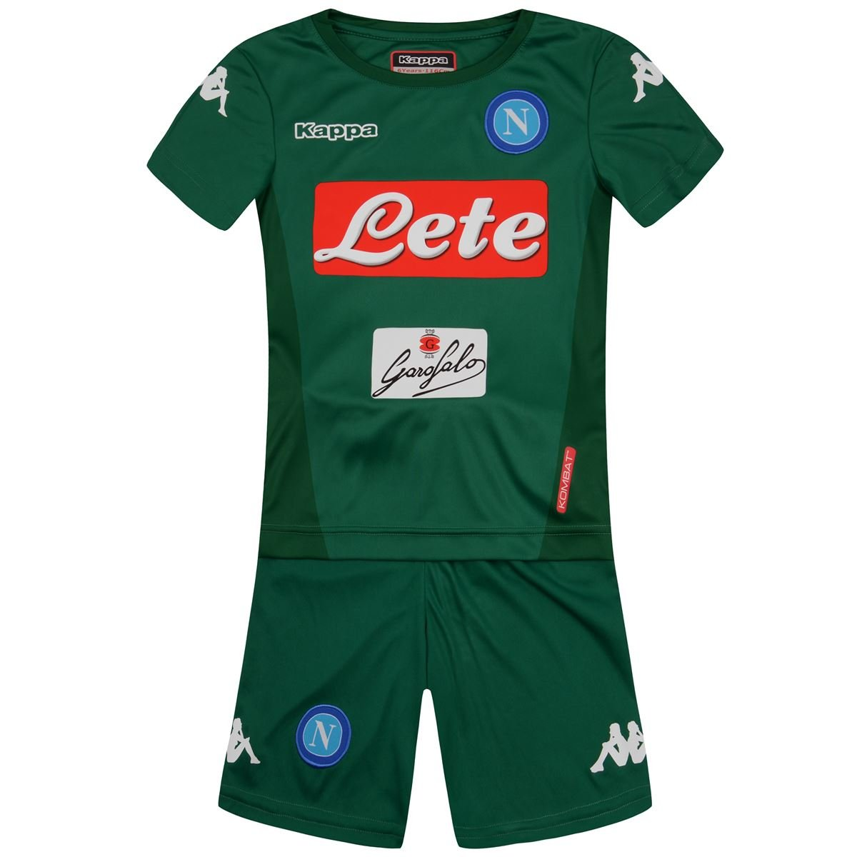Kappa - Complete - Kombat Kit Naples - Children - Green - 4Y  4 anni  (altezza 101-107cm)  Amazon.co.uk  Sports   Outdoors 05807166a