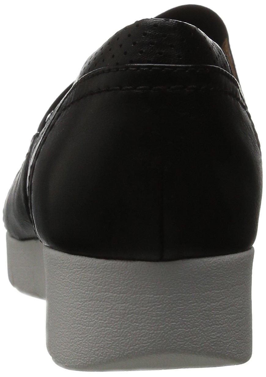 CLARKS Womens Daelyn City Slip-On B00O9NHCNM 7 B(M) US Black