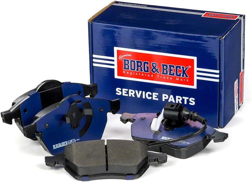 4-teilig Borg /& Beck BBP1734 Bremsbelagsatz