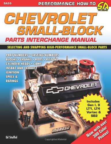 Chevrolet Small Block Parts Interchange (SA Design) from Brand: