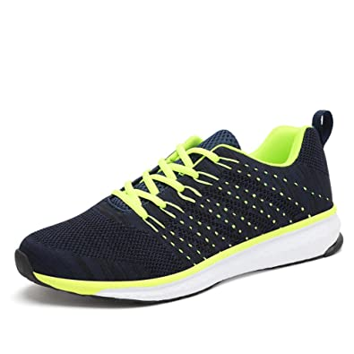 Zapatillas de Running Hombre Deportivas Aire Libre y Deportes Montaña y Asfalto Zapatos para Correr 39 - 45: Amazon.es: Zapatos y complementos
