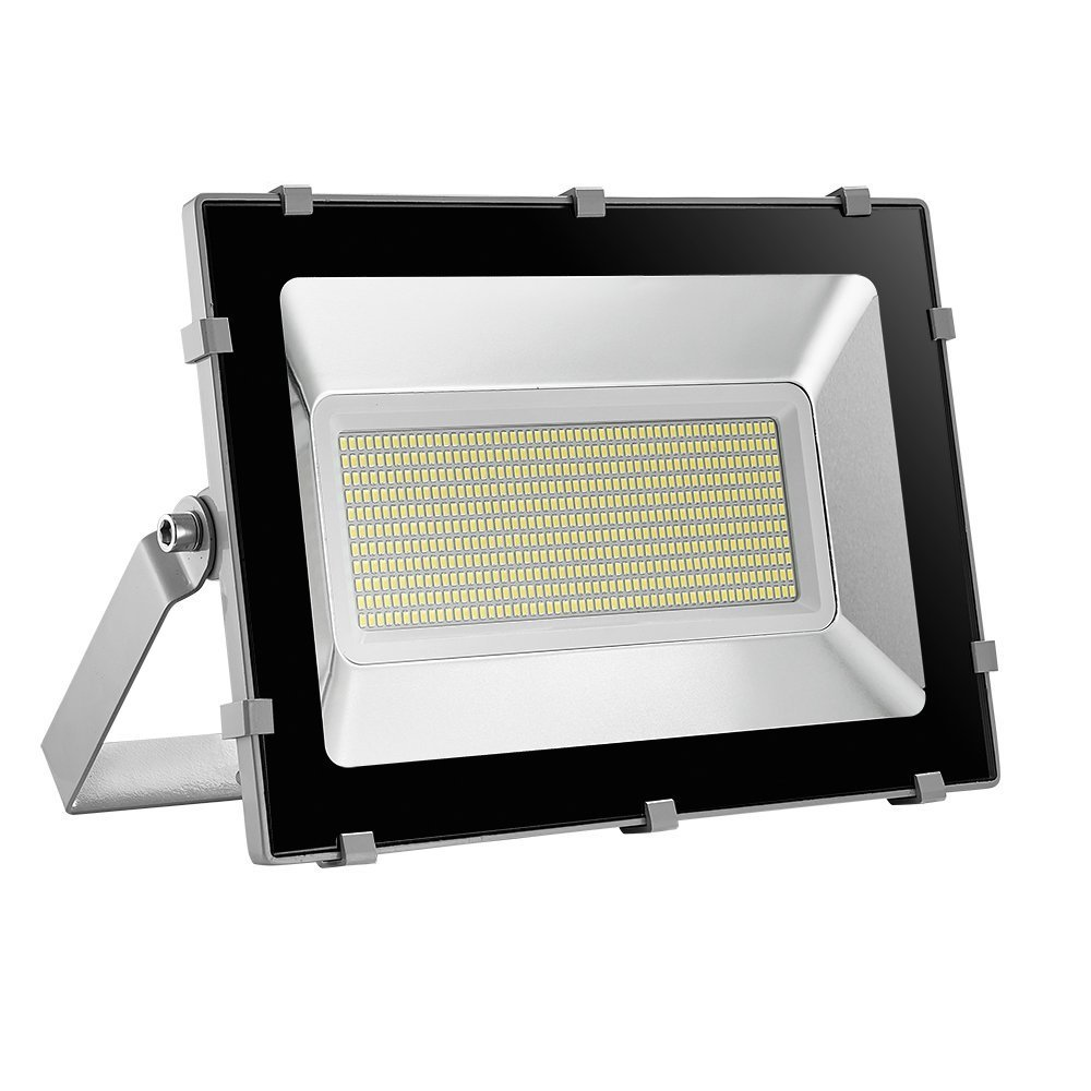 Viugreum 300W LED Outdoor Flood Lights, Waterproof IP65, 36000LM, Daylight White(6000-6600K), Super Bright Outdoor Work Light,Stadium Lights,for Garden, Yard, Warehouse, Square, Billboard,Factory