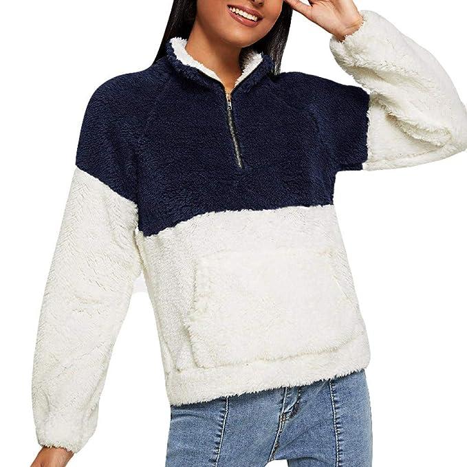 Darringls Abrigos de otoño 2018, Suéter de Chaqueta Moda Camiseta de Manga Larga Mujer Jersey cálido Hoodie Felpa Sudadera con Capucha: Amazon.es: Ropa y ...