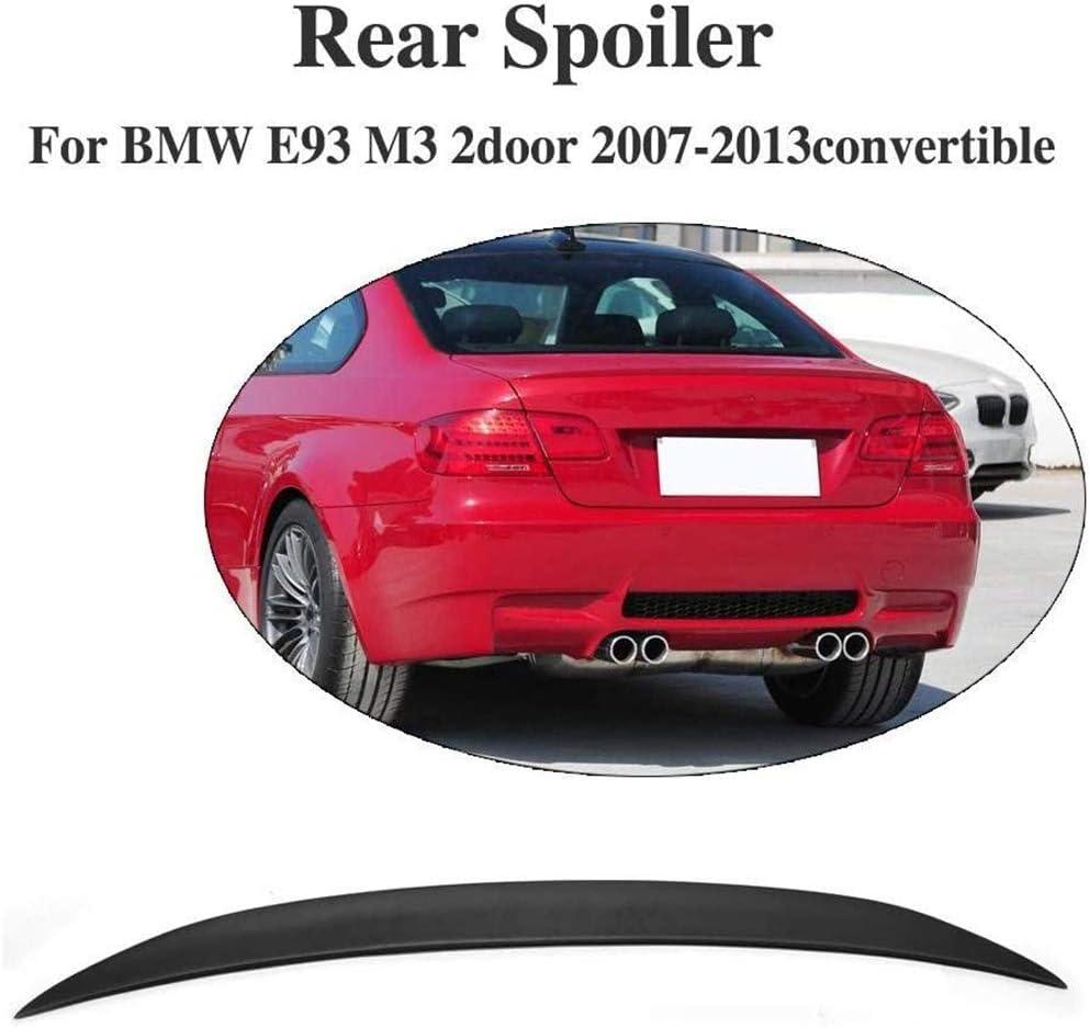 Adecuado para BMW E93 M3 2Puertas Spoiler 2007-2013 Convertible FRP sin Pintar Aler/ón Trasero Spoiler Tapa ala Trasera LY-QCYP Spolier para Maletero
