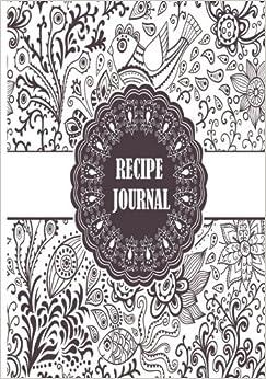 Book Recipe Journal: Blank Cookbook To Write In (Blank Cookbooks and Recipe Books)
