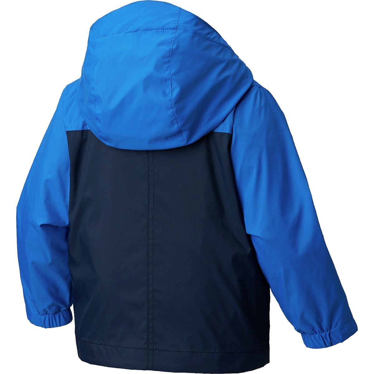 Little Kids//Big Kids Columbia Kids Boys Rain-Zilla/¿ Jacket Collegiate Navy//Super Blue//Zour Small