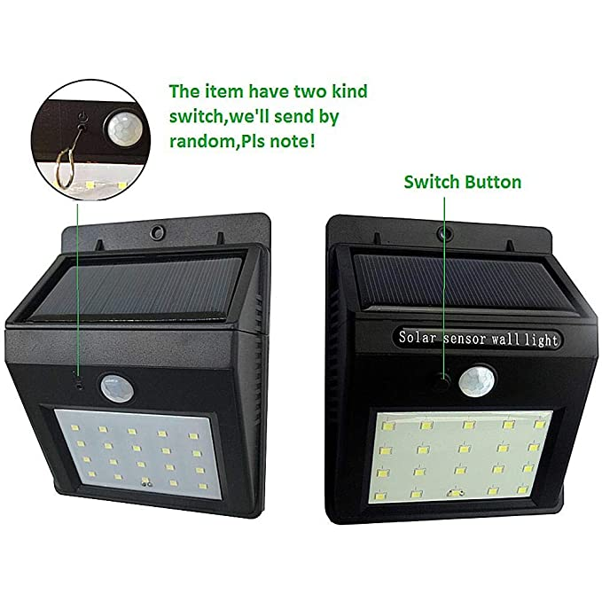 Etc Seasaleshop Luz De Solar Led Lámpara Solar De Jardin Luces De Exterior Con Sensor Impermeable Sensor De Movimiento Pir Sensor De Noche Adecuado Para Patios Calles Exteriores Decoración De Exterior Iluminación De Exterior Hsabc Org
